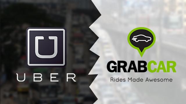 Grab and Uber