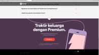 Spotify Premium family price in Indonesia.