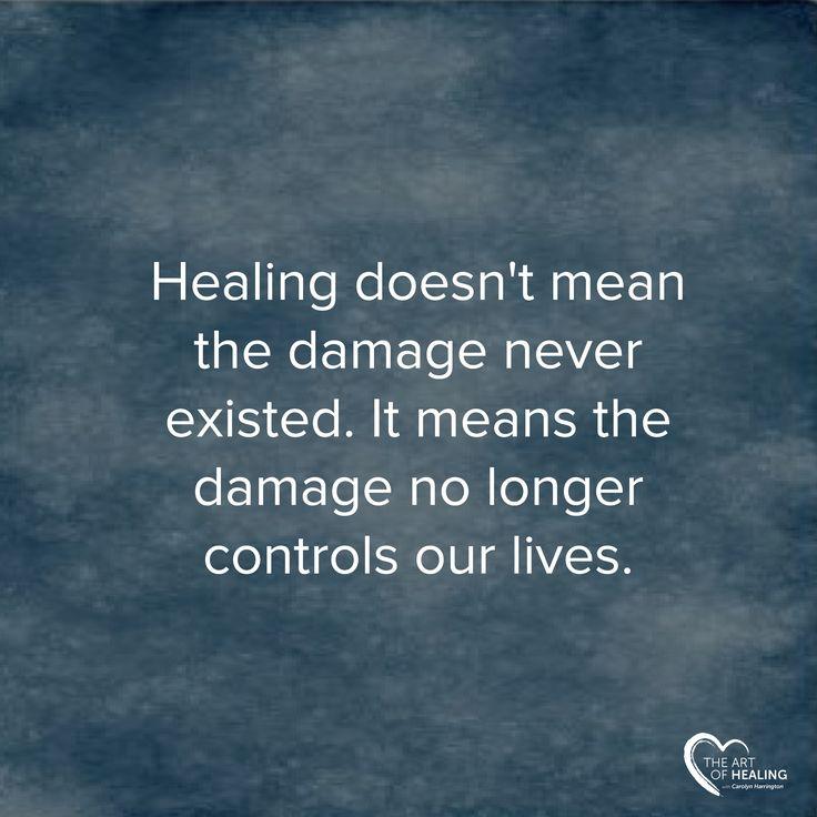 Healing Pinterest Quote