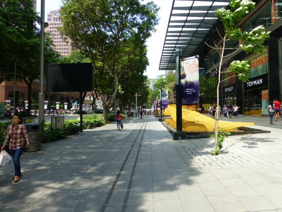 Orchard Road Sidewalk